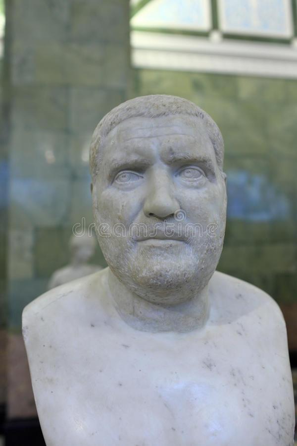 Download Bust Of The Emperor Balbinus Stock Photo - Image: 22064958