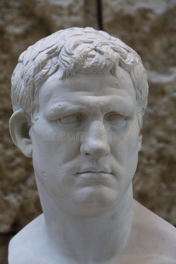 Download Bust Of Marcus Vipsanius Agrippa Stock Photo - Image: 19268372