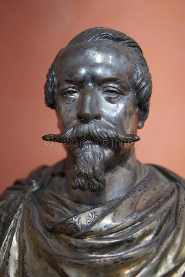 Download Bust of Napoleon III stock image. Image of monument, ajacco - 11543803