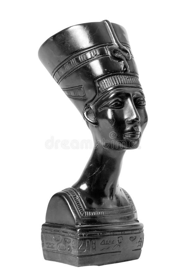 Bust of Nefertiti Egyptian Queen stock photography