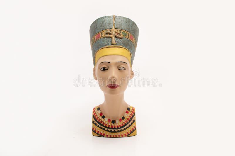 Download Bust of Nefertiti stock image. Image of pharaoh, culture - 35585513