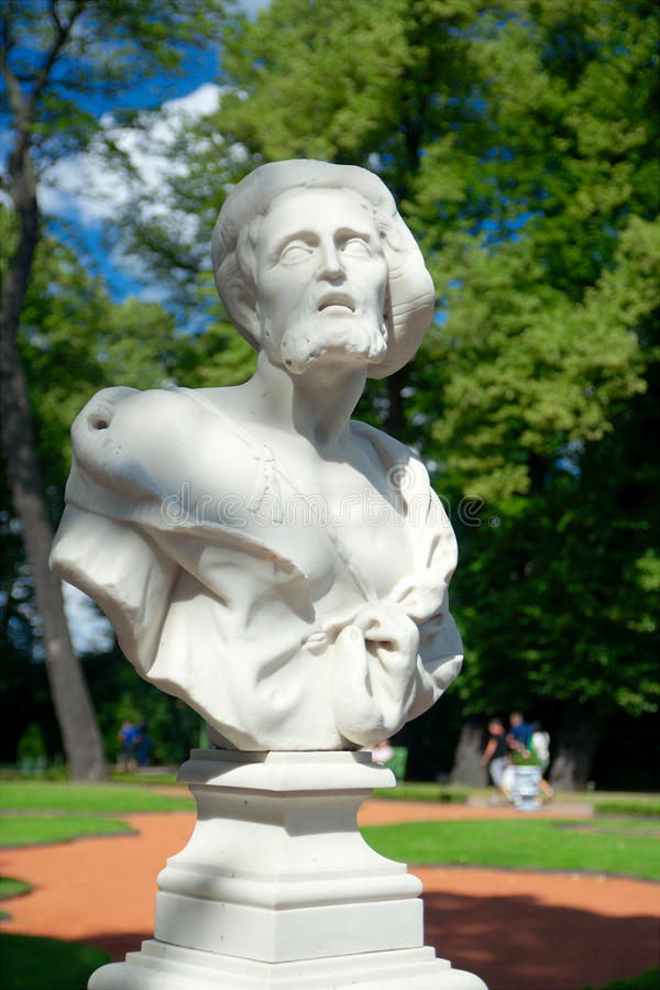 Free Bust Of Diogenes, Summer Garden, Saint Petersburg Royalty Free Stock Photography - 51188607