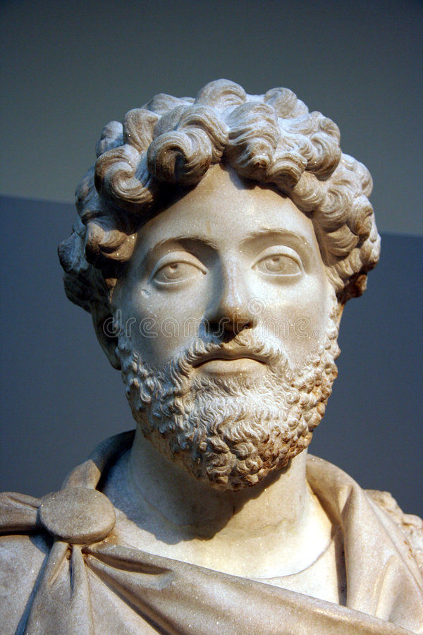 Bust Of Roman Emperor Royalty Free Stock Images