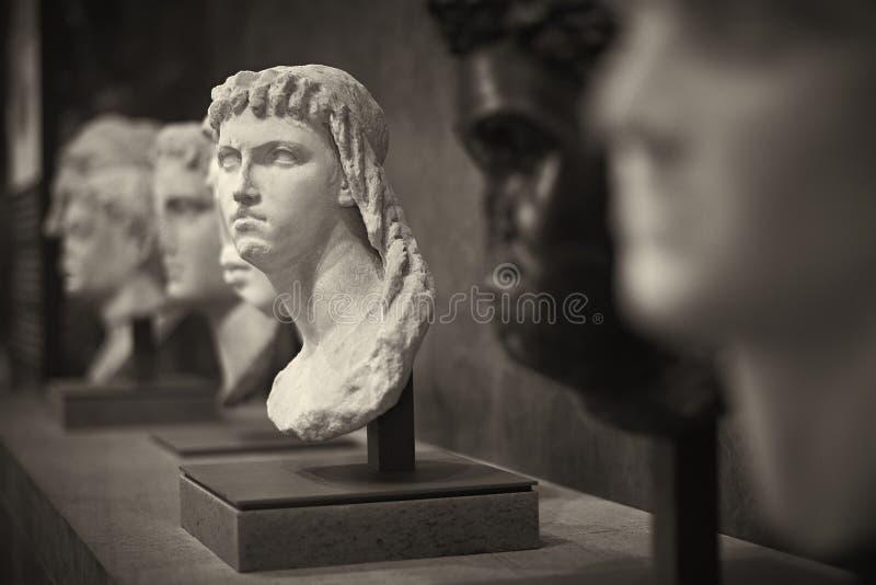 Bust statue. Louve Paris France stock image
