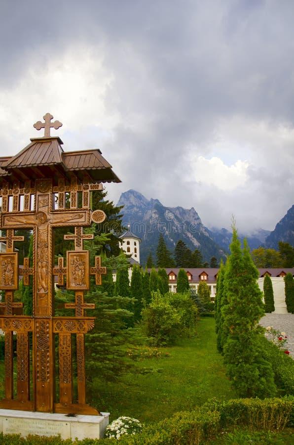Romania, Busteni, Monastery Caraiman, Europe, Septebmer 2018 stock photography