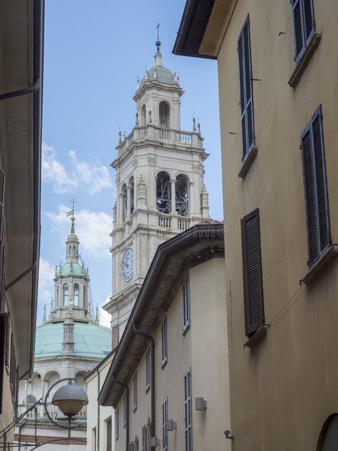 Busto Arsizio,意大利:圣玛丽亚教会 库存图片