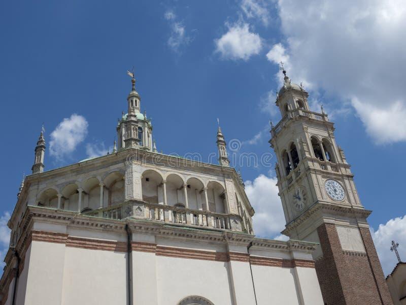 Busto Arsizio,意大利:圣玛丽亚教会 库存照片