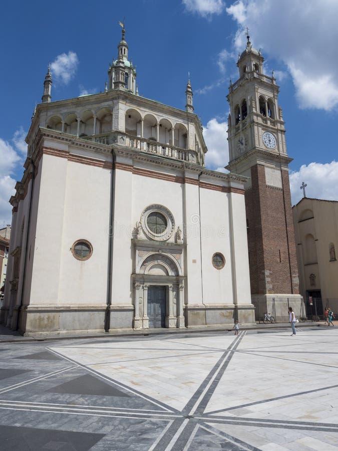 Busto Arsizio, Italie : Église de Santa Maria photographie stock libre de droits