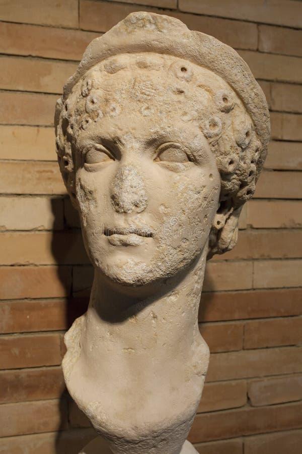 Busto de Agrippina Minor foto de stock royalty free