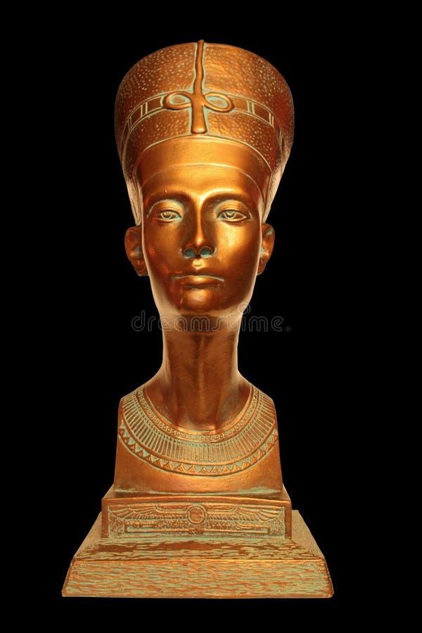 Busto de Nefertiti foto de archivo libre de regalías