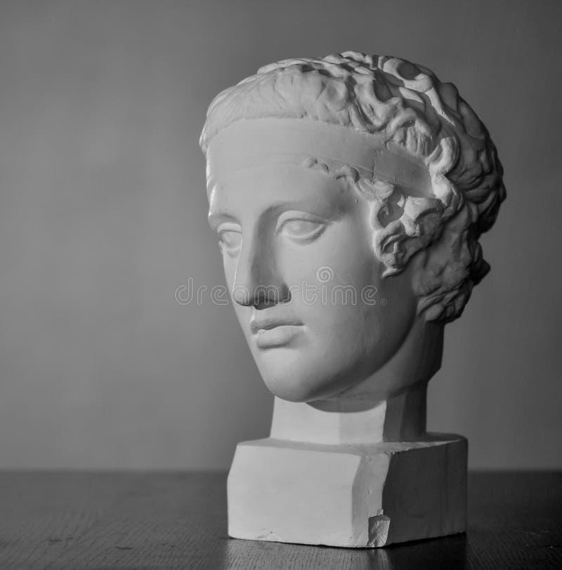 Busto del gesso di Diadumen fotografie stock