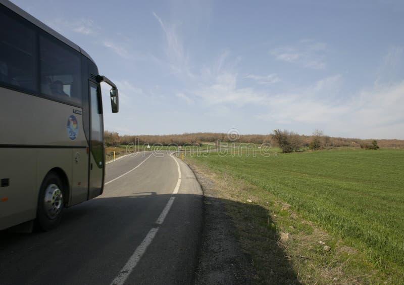 Bustransport Stockbilder
