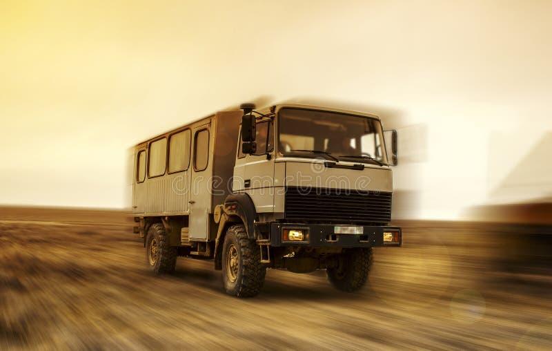 Buswoestijn royalty-vrije stock afbeelding
