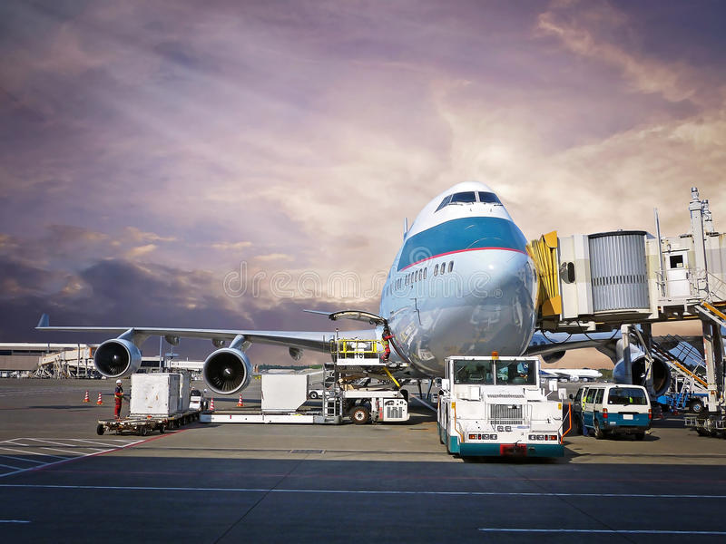 Busy Airport Terminal stock images