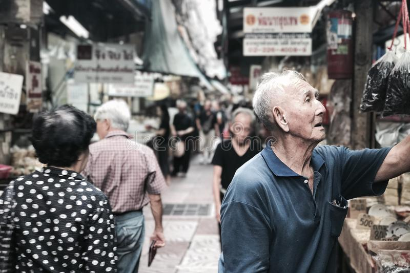 Busy Alley royalty free stock photography