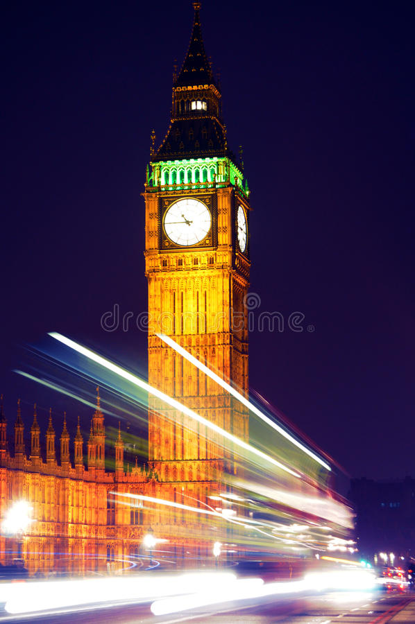 Download Busy big ben stock image. Image of traffic, light, westminster - 23922845