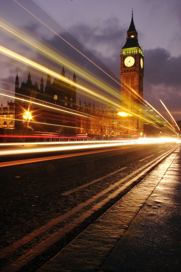 Busy big ben royalty free stock images