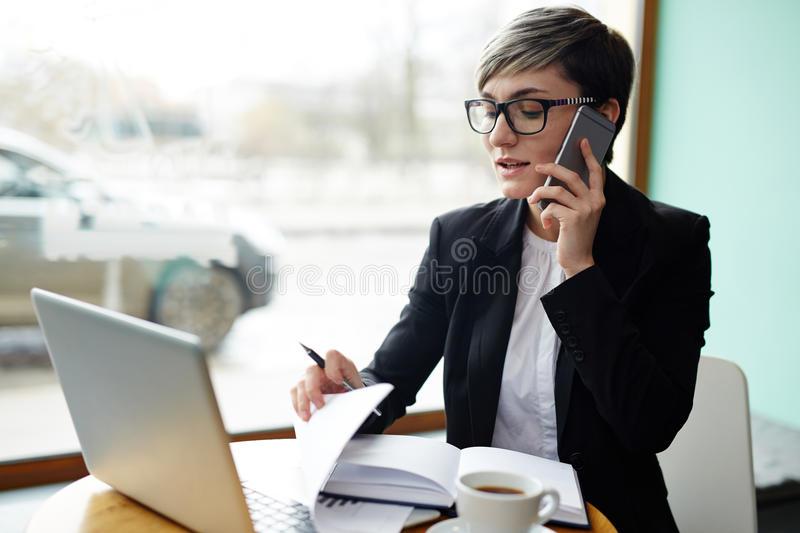 Busy broker stock images