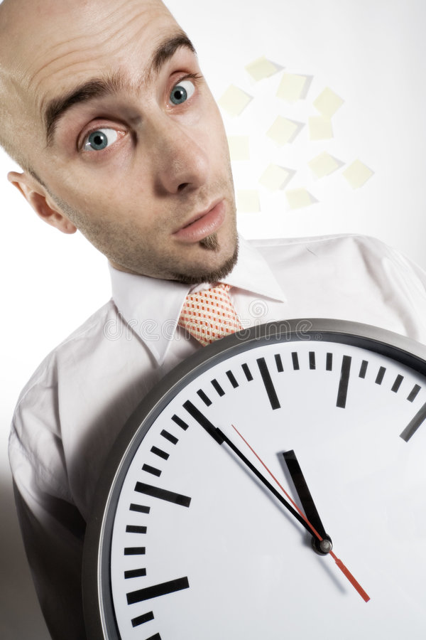 Download Busy Businessman stock image. Image of frantically, forgetting - 1846951