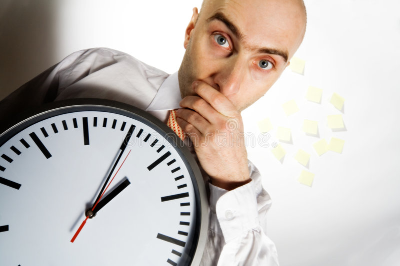 Download Busy Businessman-2 stock image. Image of businessman, frantic - 1846959
