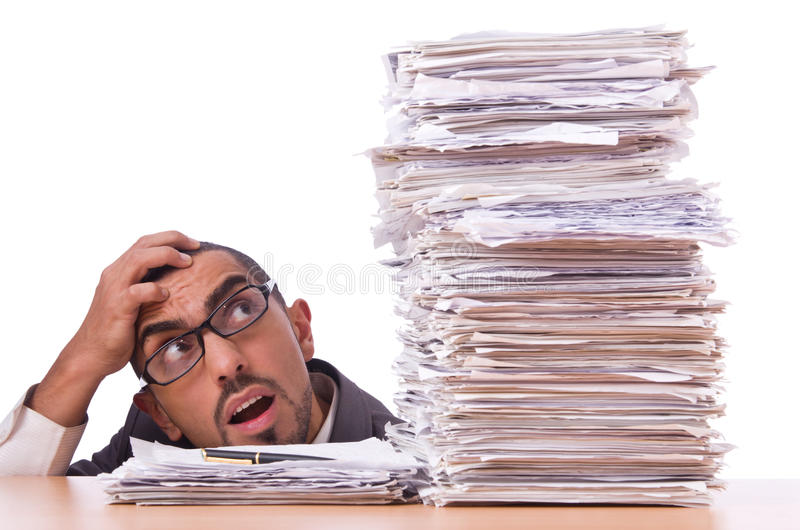 Download Busy Businessman Royalty Free Stock Photography - Image: 31330167