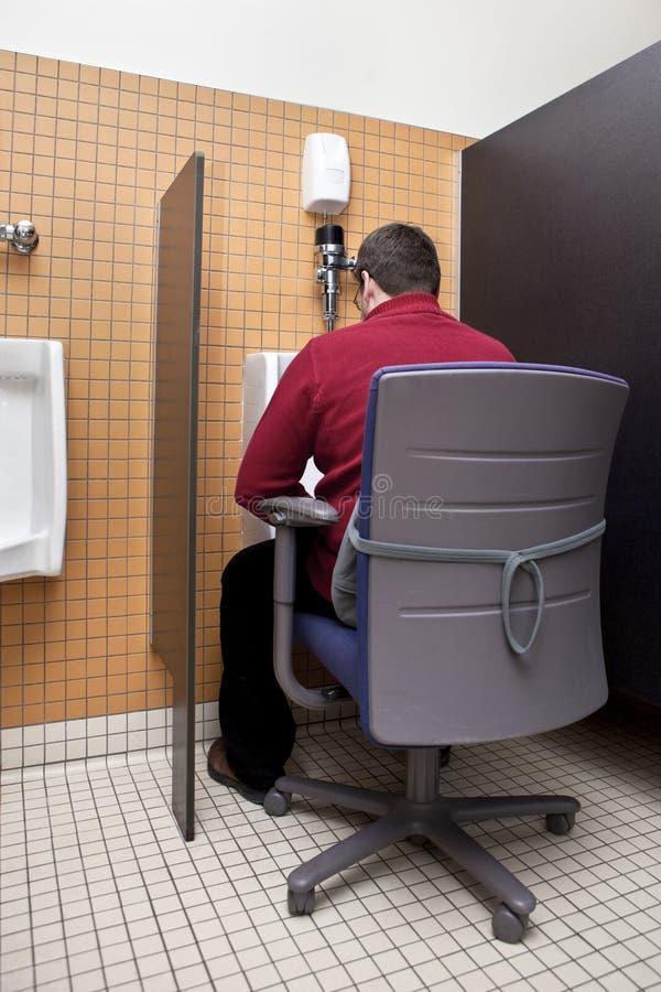 Busy Businessman Multitasking Stock Photos