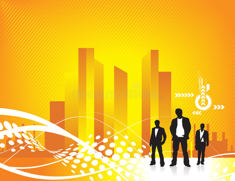 Download Busy city stock illustration. Illustration of discrete - 8909839