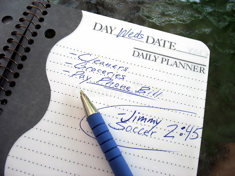 Busy Day Royalty Free Stock Photos