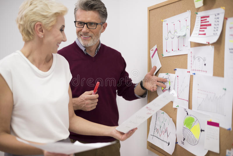 Busy day at work stock photos