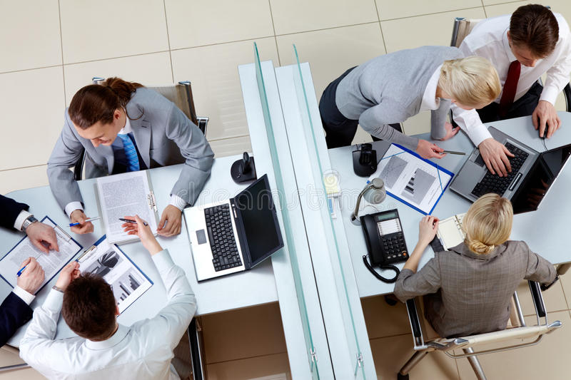 Download Busy employees stock photo. Image of interaction, businessman - 13663722