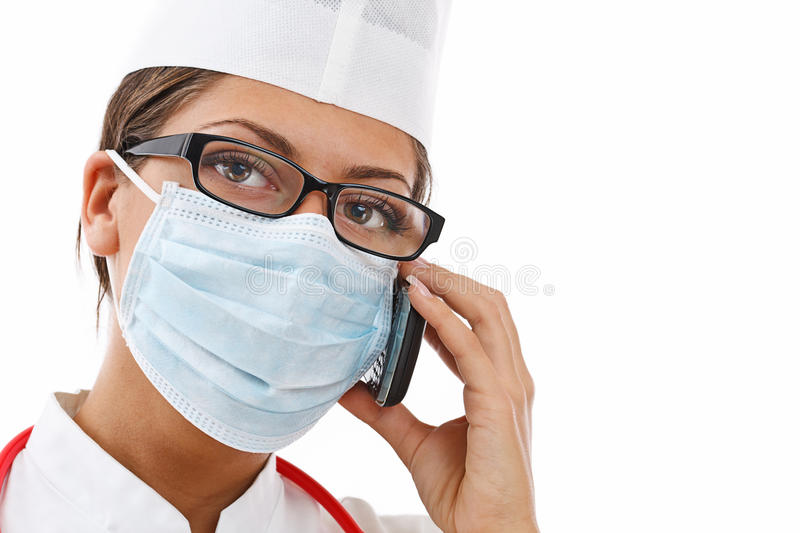 Download Busy female doctor stock image. Image of intern, medicine - 22540465