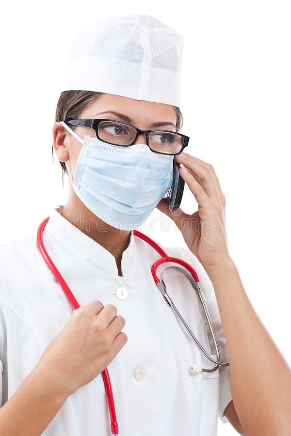 Download Busy Female Doctor Stock Photography - Image: 23556962