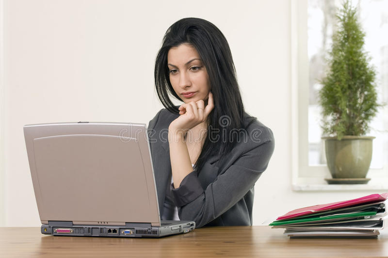 Download Busy female in office stock photo. Image of assistant - 17391706