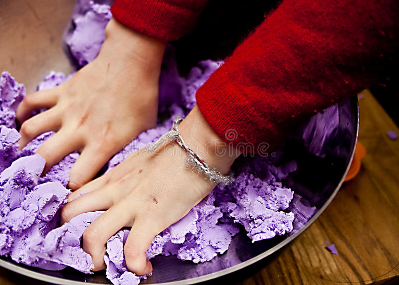 Busy Hands stock images
