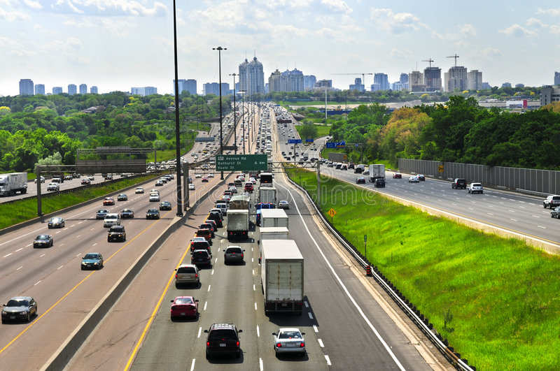 Download Busy highway stock image. Image of busy, rush, hour, highway - 5461443
