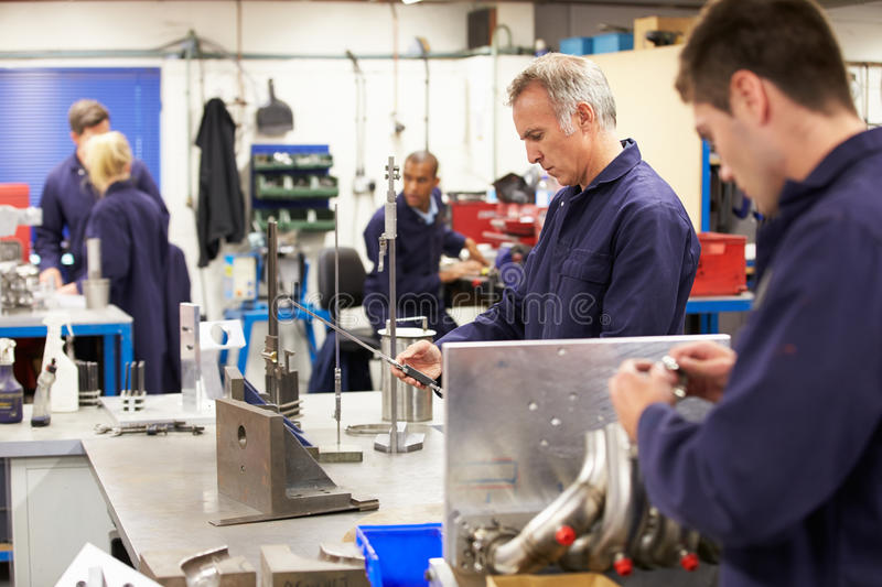 Download Busy Interior Of Engineering Workshop Stock Photo - Image of five, teaching: 34160468