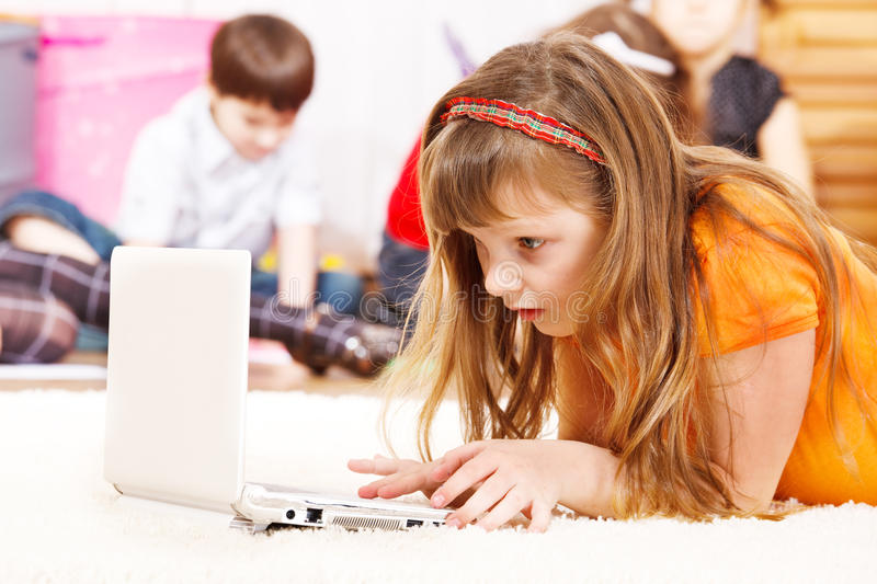 Download Busy kid stock photo. Image of indoors, group, friendship - 21551732