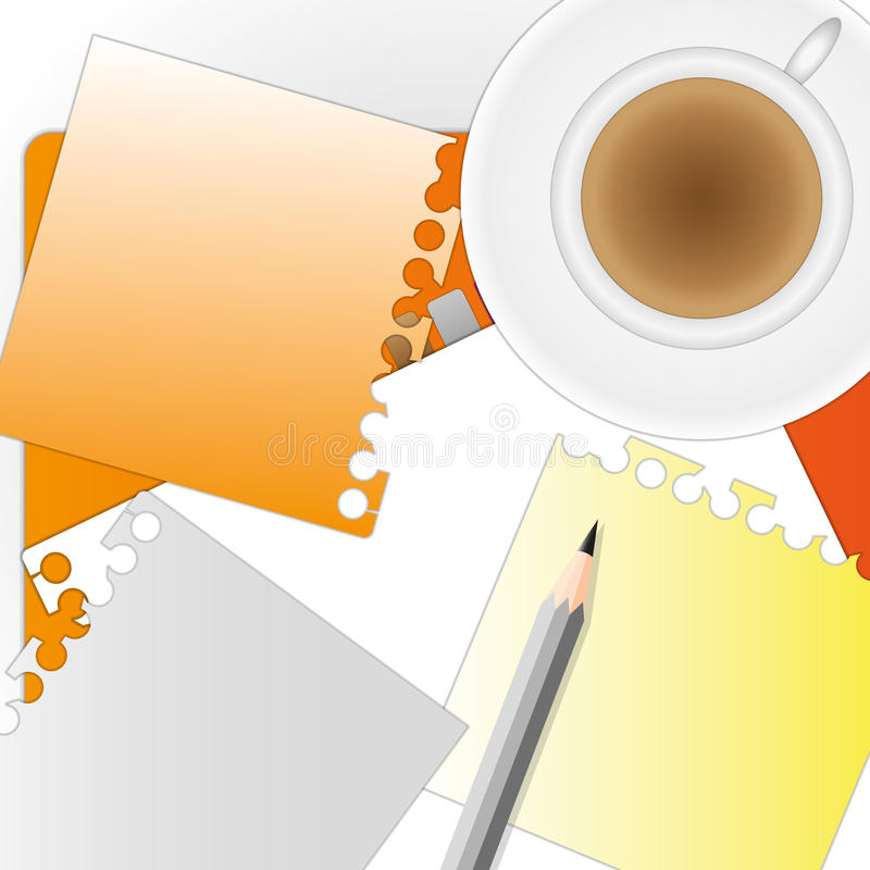 Download Busy morning stock illustration. Illustration of equipment - 22742408