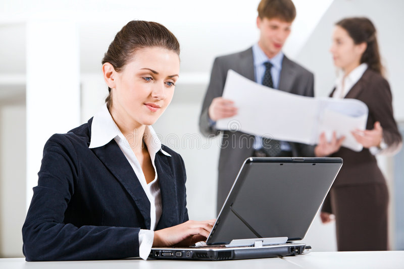 Busy professional stock images