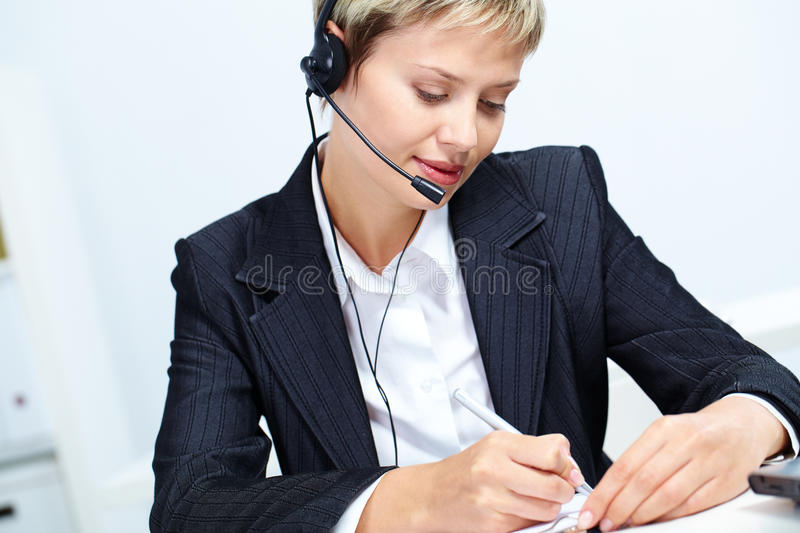 Download Busy Secretary Royalty Free Stock Image - Image: 25444166