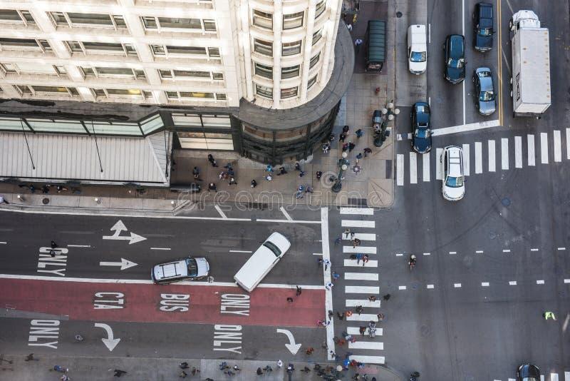 Busy street in Japan stock photos