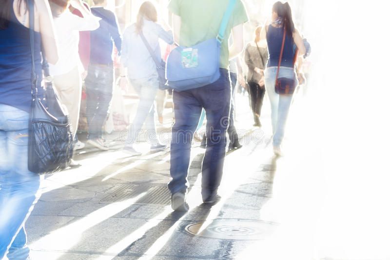 Download Busy street people stock image. Image of motion, crowd - 25577281
