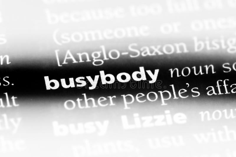 Busybody Stock Images - Download 54 Royalty Free Photos