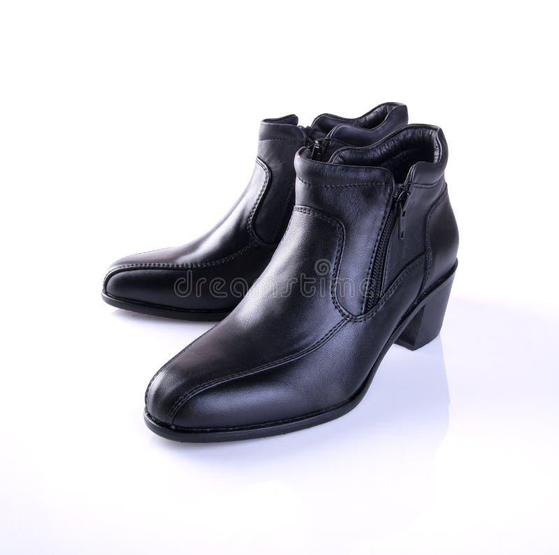 buta lub czerń koloru damy buty na tle obrazy royalty free