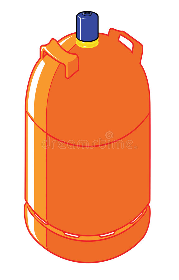 Free Butane Gas Cylinder Stock Images - 5264374