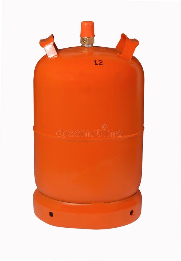 Butano del gas de botella, foto de archivo libre de regalías