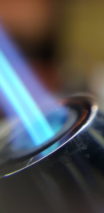 Butanu ogień fotografia stock
