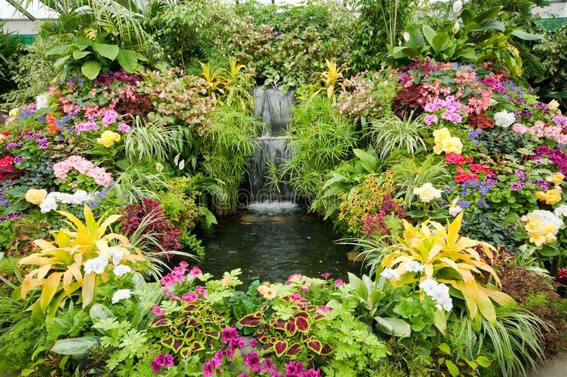 butchart pokazu kwiatu ogródy zdjęcia stock