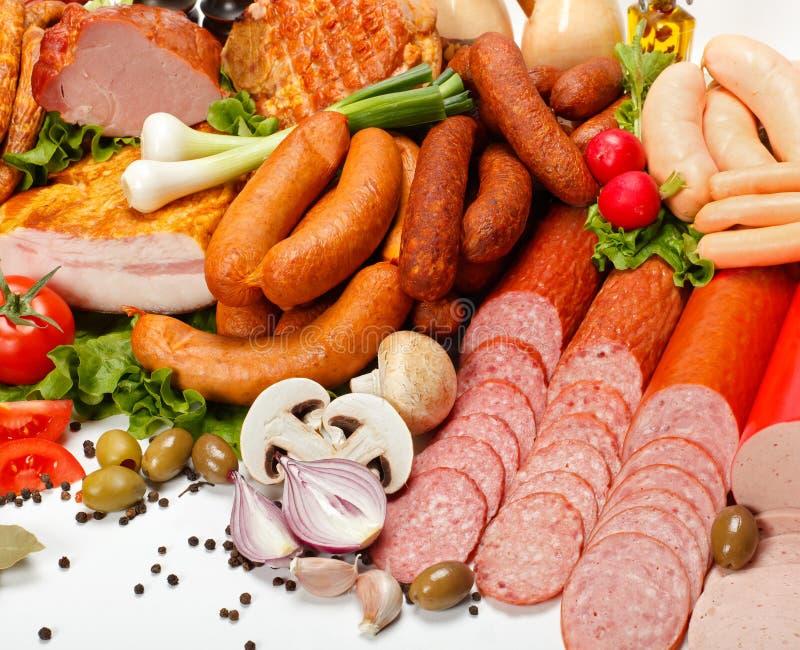 Download Butcher products stock image. Image of vegetables, salami - 29022551