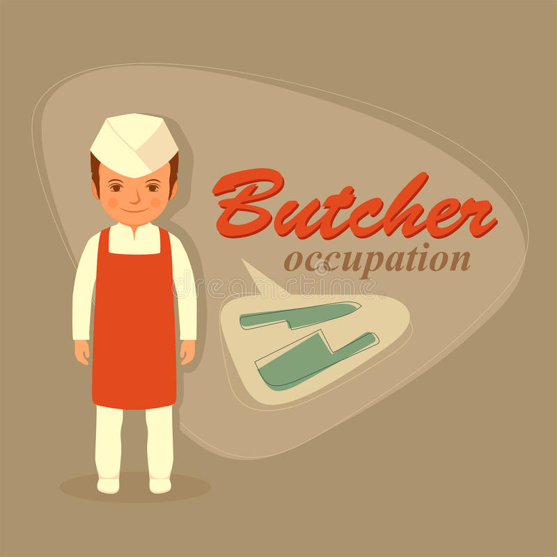 Free Butcher Profession, Royalty Free Stock Photography - 57312797